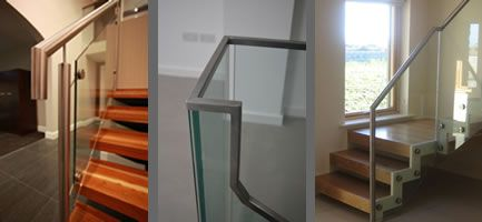 Stainless steel handrails from Signature Stairs