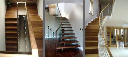 Timber handrail options from Signature Stairs