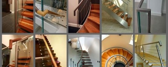 Handrail options from Signature Stairs