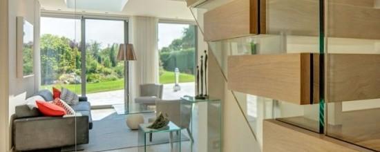 glass balustrade - glass staircase balustrade