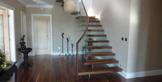 Cantilever Staircase Design - Stunning design feature stairs with floating steps