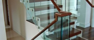 Equilibrium open stairs for an open plan living area