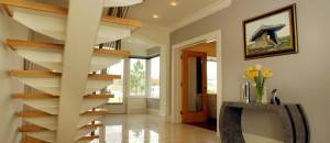 Glider fin-pate Modern Staircase