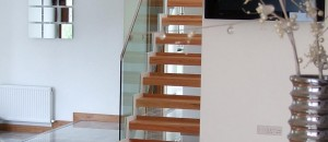 Inca straight staircase from the Signature Stairs range