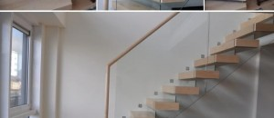 Staircase construction project for Thames Studio Apartment