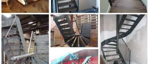 Completed staircase construction project by Signature Stairs